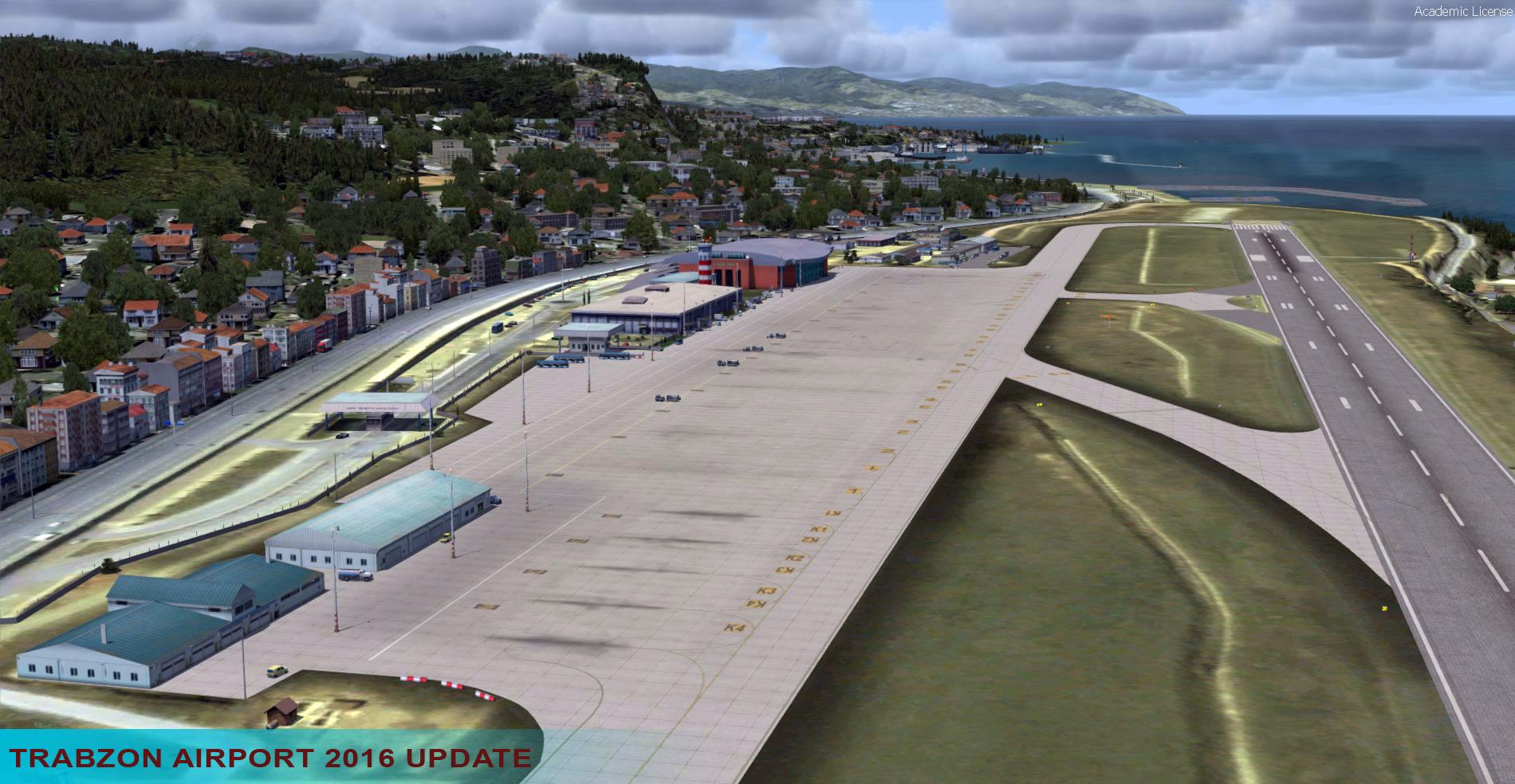 Trabzon Airport (LTCG) Scenery - SceneryTR