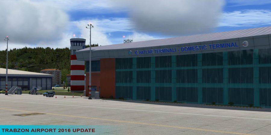 Trabzon Airport LTCG Scenery